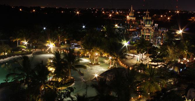 Ciputra Waterpark Surabaya Night Shoot Travels Wisata Kota