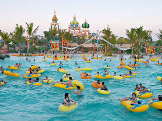 Ciputra Waterpark Water Park Surabaya Parkscout De Wisata Kota