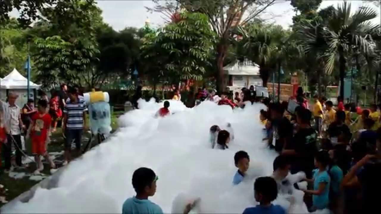 Foam Party Bali Ciputra Waterpark Surabaya Youtube Wisata Kota
