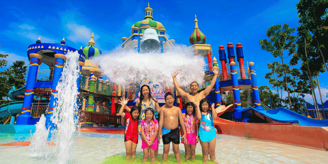 Harga Tiket Ciputra Waterpark Kolam Renang Surabaya Hotel Wahana Murah