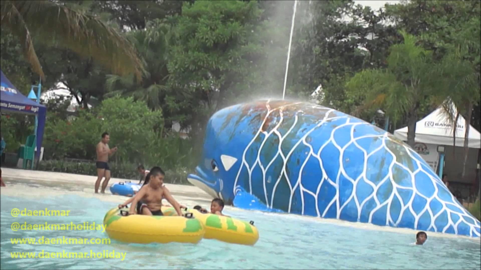 Kolam Ombak Ciputra Waterpark Surabaya Jawa Timur Youtube Wisata Kota
