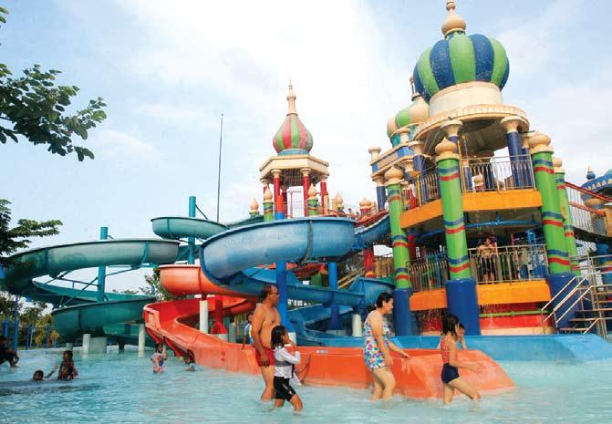 Majalah Scg Ciputra Waterpark Destinasi Wisata Jumat 30 08 2013