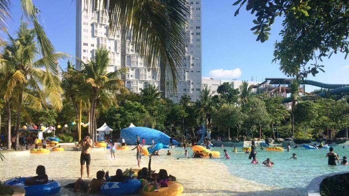 Sinbad Ciputra Waterpark Surabaya Tribunnews Wisata Kota