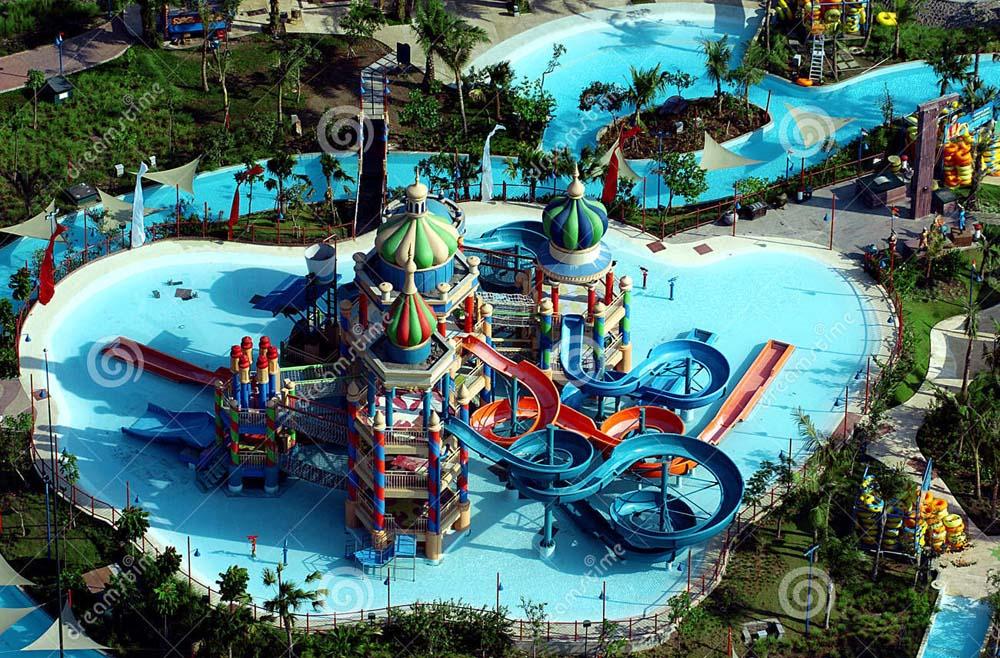 Wisata Ciputra Waterpark Daerah Surabaya Referensi Penginapan Kota