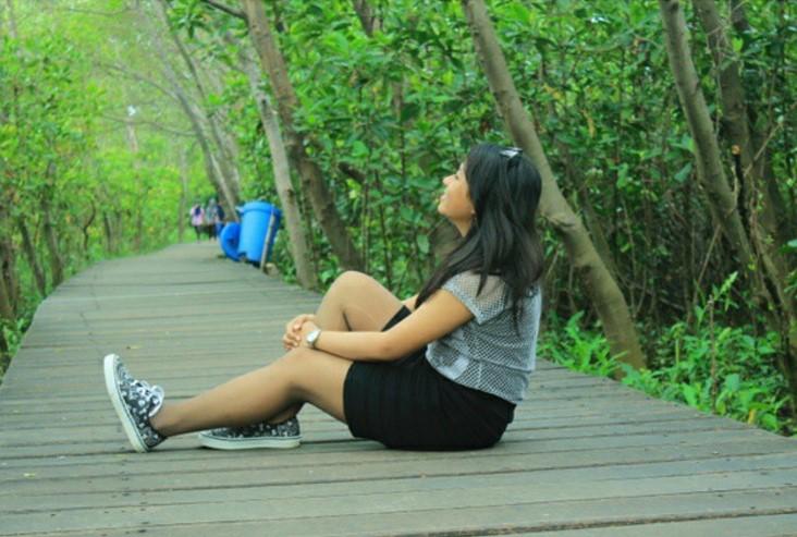 Tempat Wisata Mangrove Wonorejo Rame Informasi Foto Hutan Surabaya Kota
