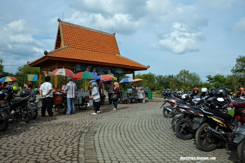 Wisata Surabaya Mangrove Wonorejo Diarysivika Food Travel Leyeh Gazebo Tersebut