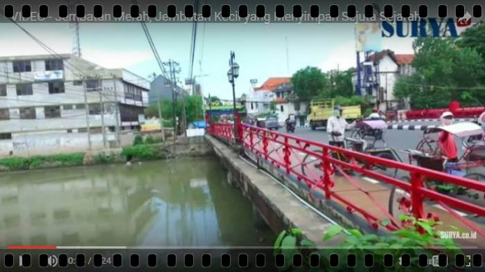Berita Video Jembatan Merah Surabaya Riwayatmu Wartakota Wisata Kota
