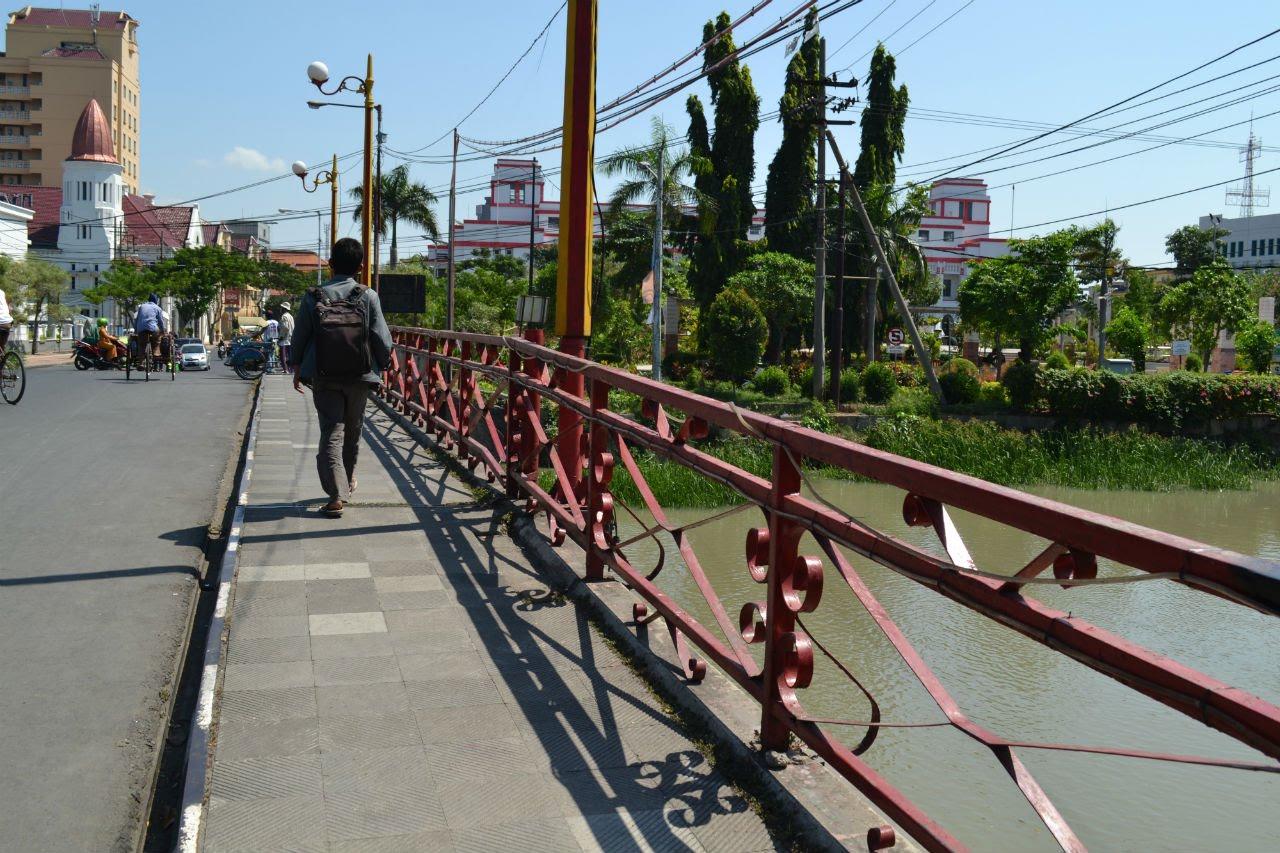 Jembatan Merah Legendaris Kota Surabaya Youtube Wisata