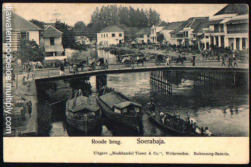 Jembatan Merah Surabaya 1890 Prefab Wisata Kota