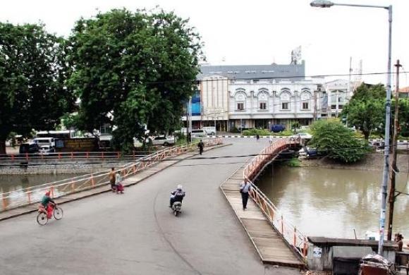Jembatan Peneleh Riwayatmu Panduan Wisata Surabaya Pesona Salah Satu Tempat