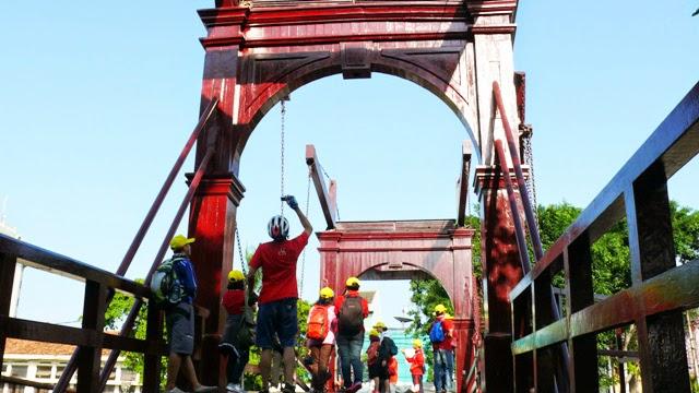 Melihat Sisi Sejarah Jembatan Kota Intan Wisata Jakarta Www Budisusilo85