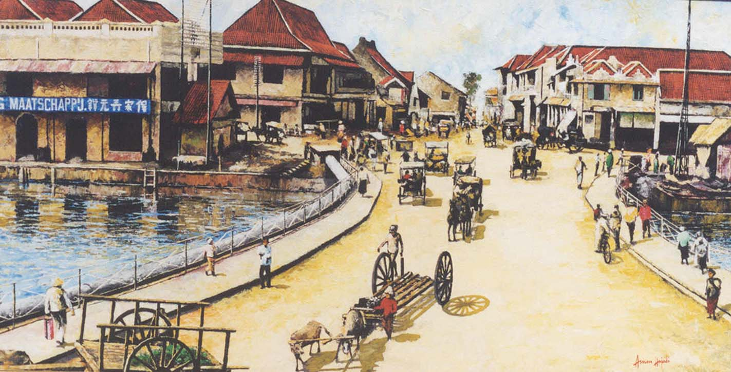 Mengenal Asal Usul Sejarah Jembatan Merah Surabaya Ri Wisata Kota