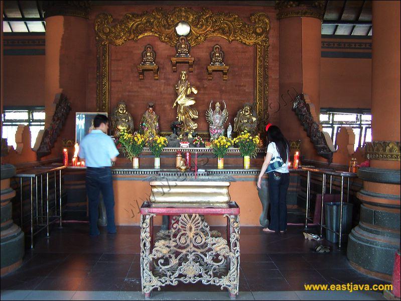 Sanggar Agung Religious Place China Cultural Nuance Kelenteng Surabaya Wisata