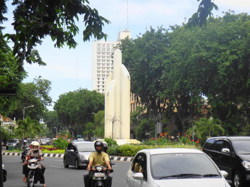 Lokasi Monumen Bambu Runcing Surabaya Prefab Wisata Kota