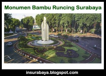 Monumen Bambu Runcing Surabaya Info Wisata Kota