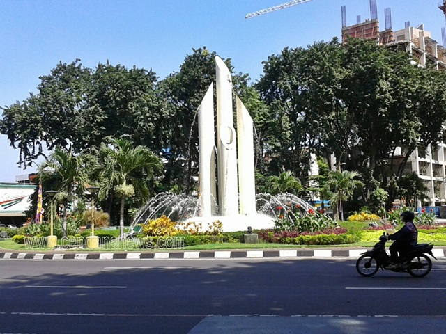 Monumen Bambu Runcing Wisata Sejarah Kota Surabaya Cendana News 12