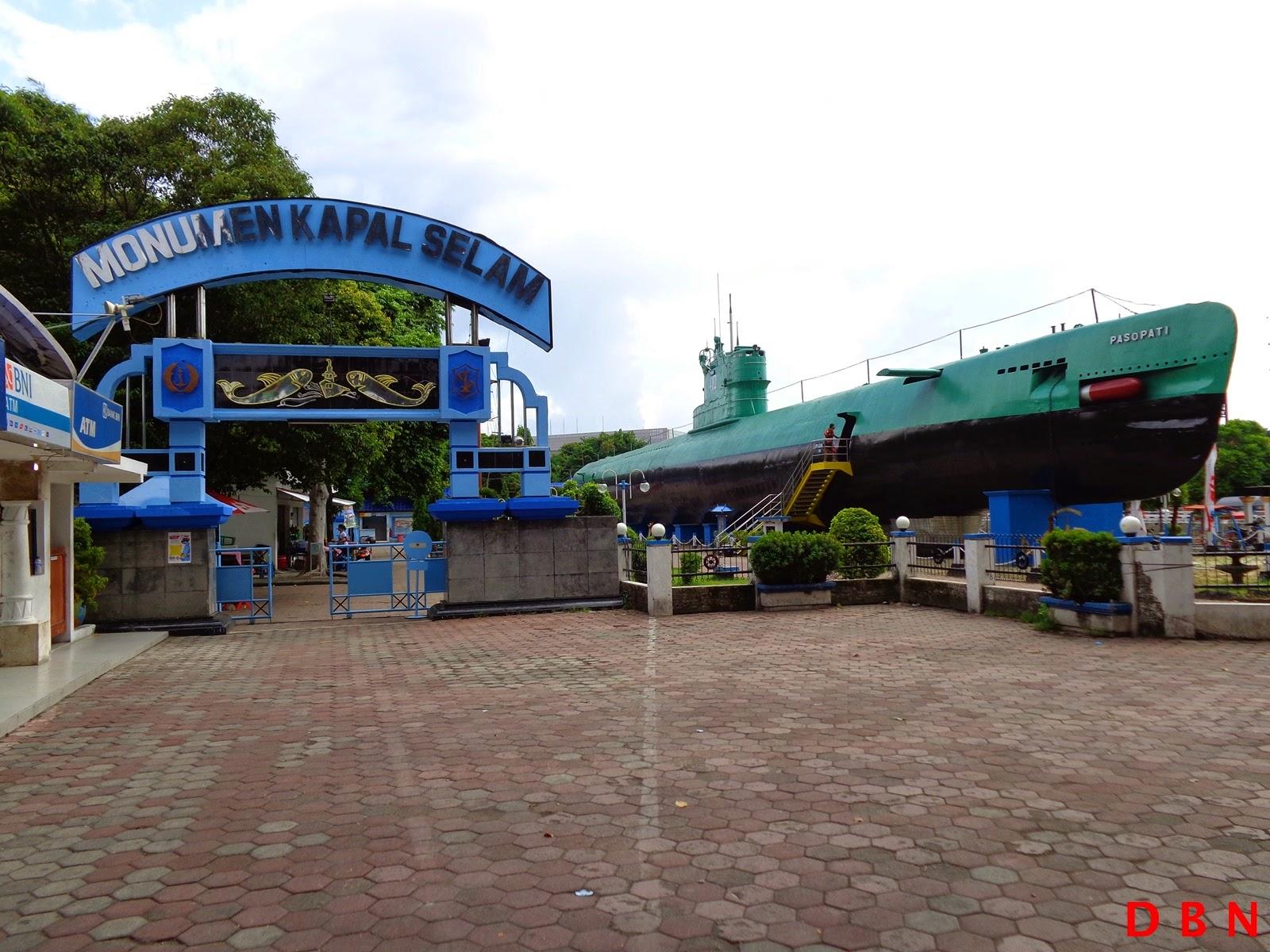 Journey Life Berkunjung Monumen Kapal Selam Surabaya Satu Objek Wisata
