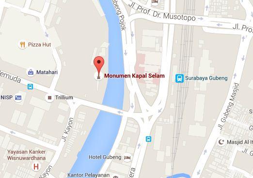 Monumen Kapal Selam Surabaya Monkasel Wisata Obyek Indonesia Kota