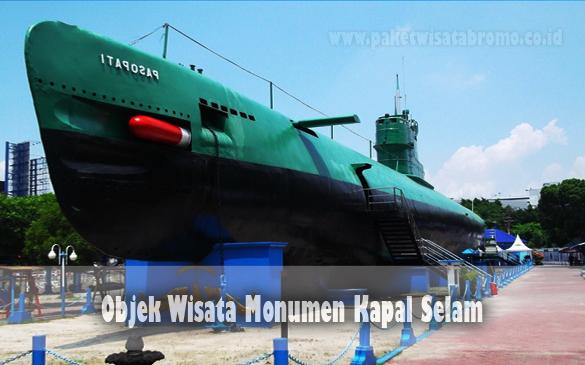Objek Wisata Monumen Kapal Selam Paket Bromo Malang Batu Jawa