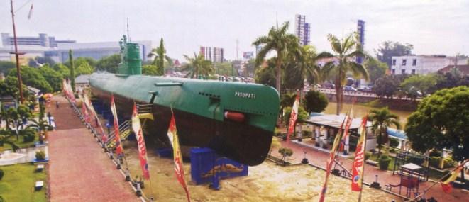 Seputar Tempat Wisata Surabaya Wajib Kunjungi Monumen Kapal Selam Kota