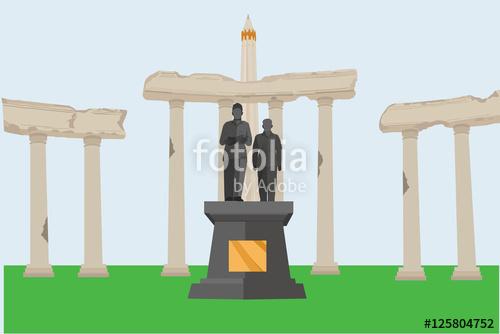 Heroic Monument Tugu Pahlawan Surabaya Indonesia Wisata Monumen Kota