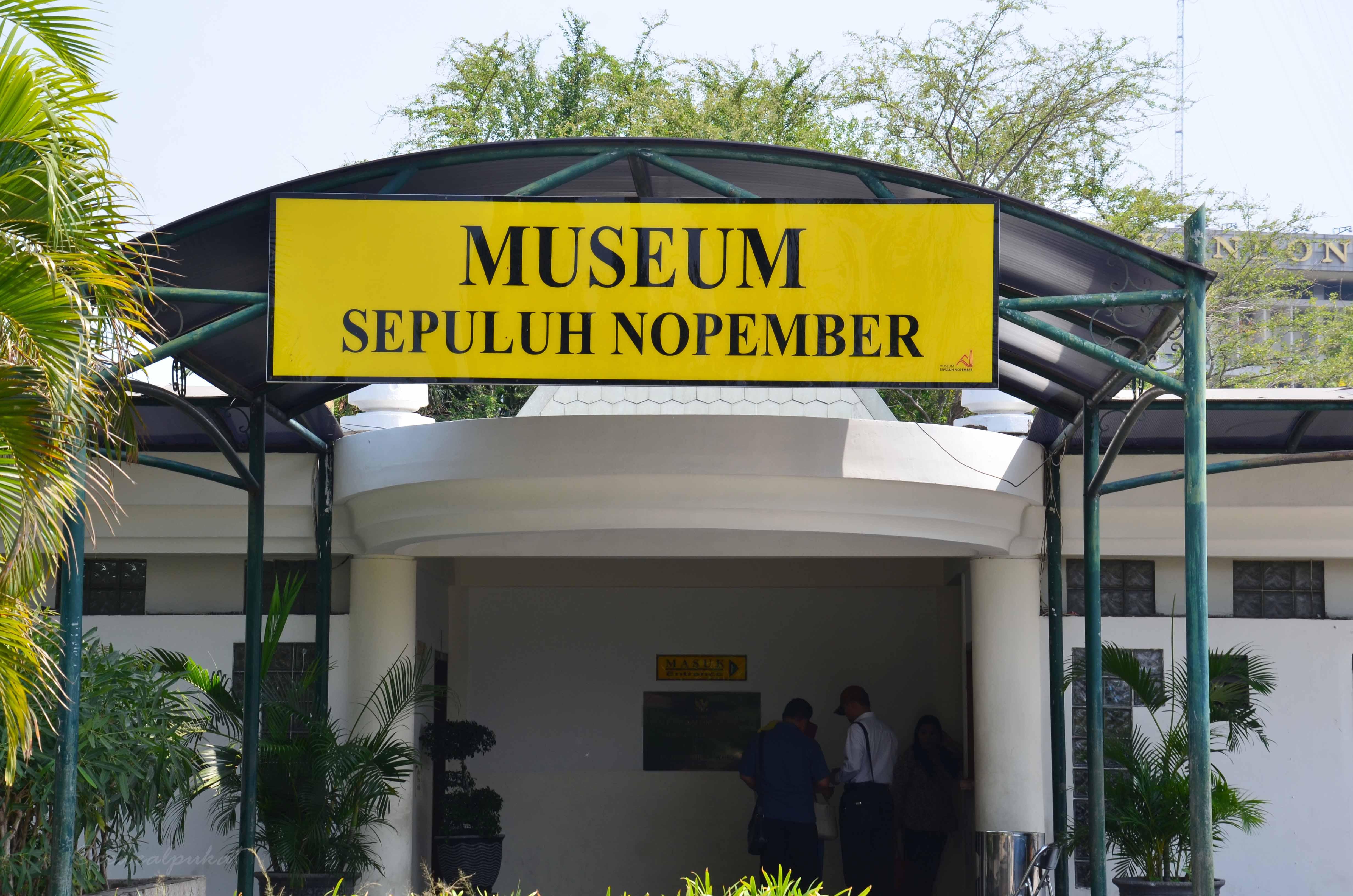 Surabaya Nikmati Wisata Sejarah Tugu Pahlawan Museum 10 Nopember Aya