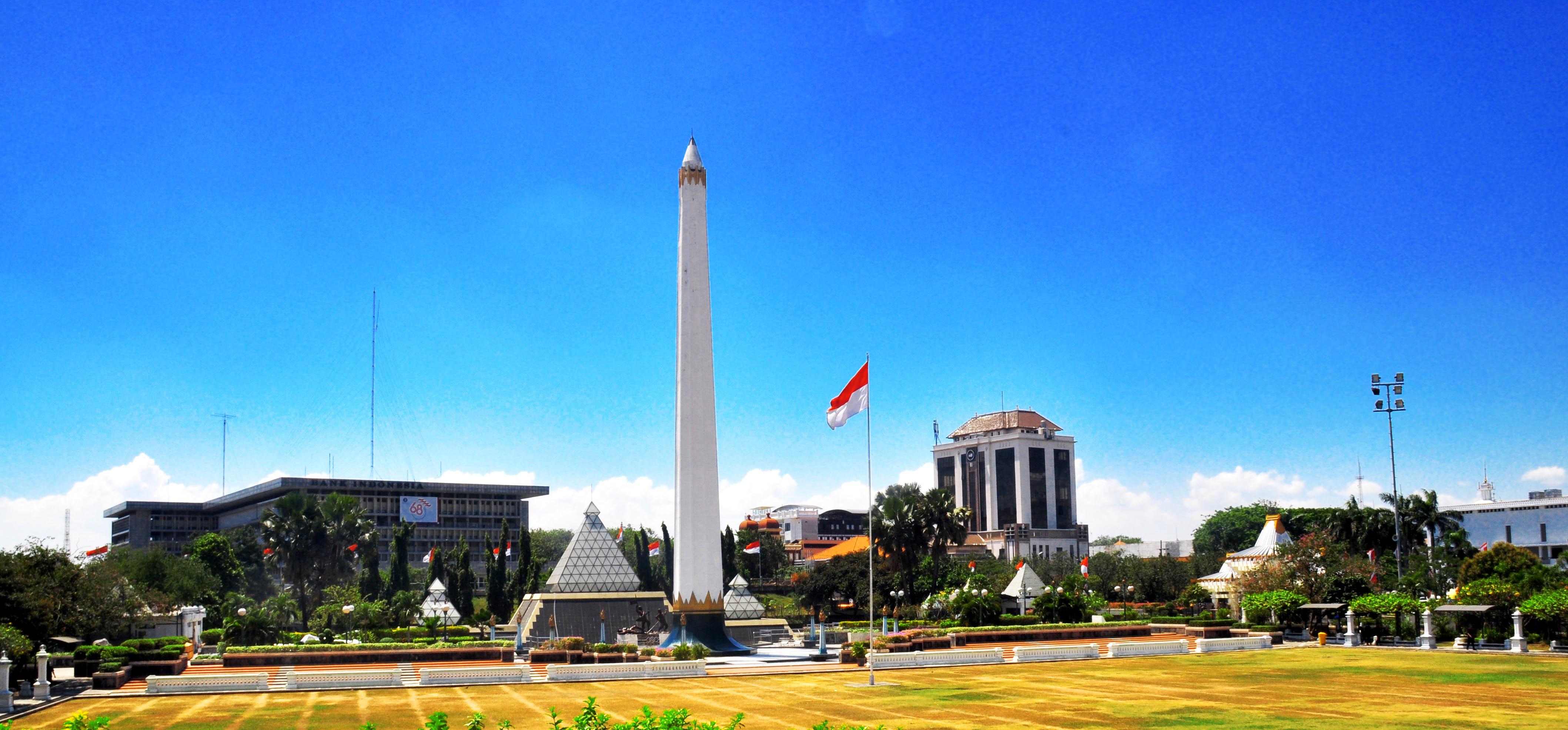 Tugu Pahlawan Monumen Kebanggaan Surabaya Indonesia Ngetren Wisata Kota