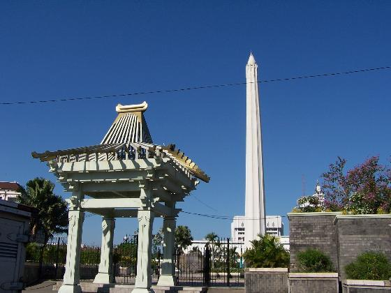 Wisata Surabaya Monumen Tugu Pahlawan Sebuah Menjadi Icon Kota