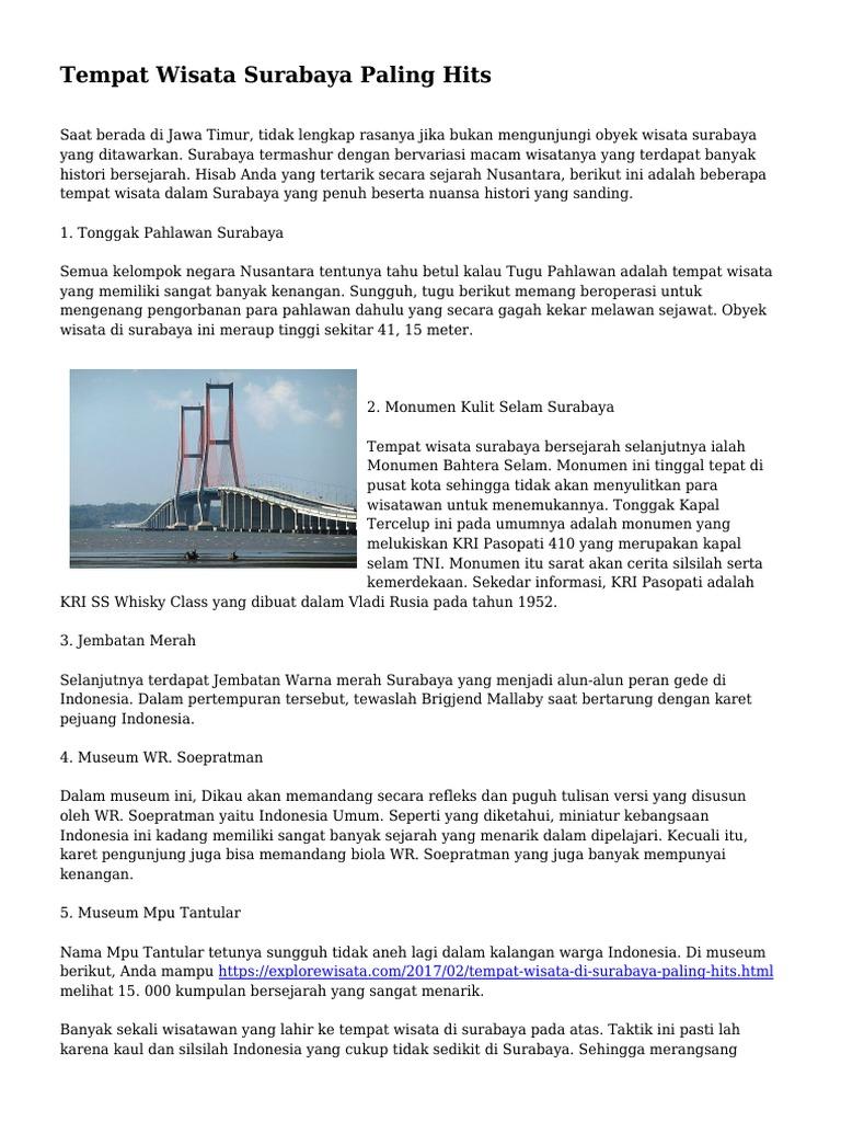 1524008206 1 Wisata Museum Wr Soepratman Kota Surabaya