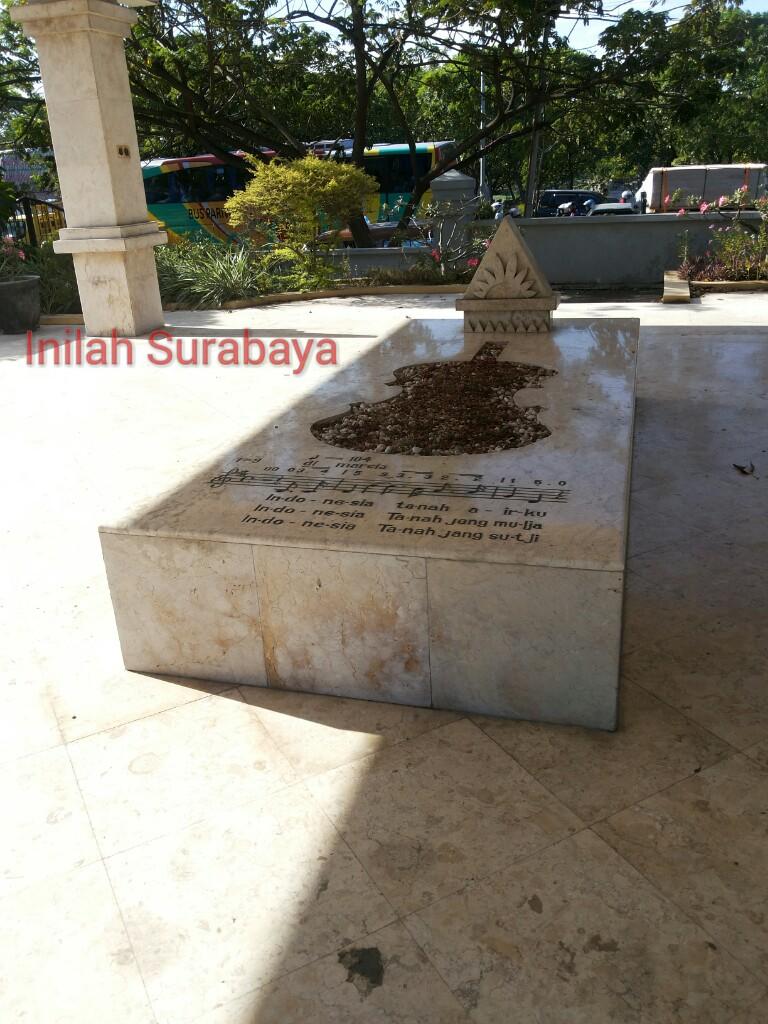 Inilah Surabaya Makam Supratman Wr Wisata Museum Soepratman Kota