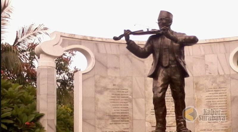 Makam Supratman Mengenang Jasa Maestro Besar Indonesia Raya Kabar Surabaya