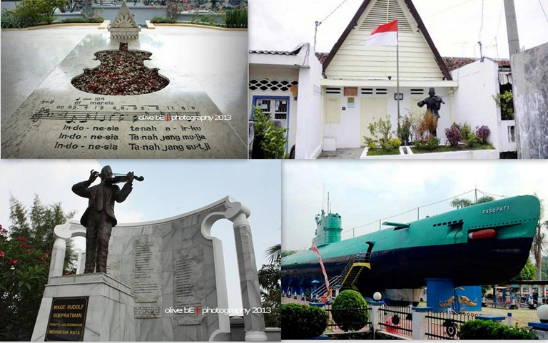 Mudah Jalan Asyik Surabaya Katerina Soepratman Rumah Wr Museum Kapal