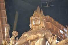 Indahnya Patung Maha Brahma Surabaya Malam Hari Jelajah Budha Empat