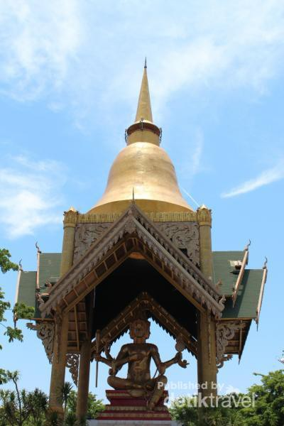 Inilah Patung Buddha Empat Wajah Surabaya Faces Tampak Depan Wisata