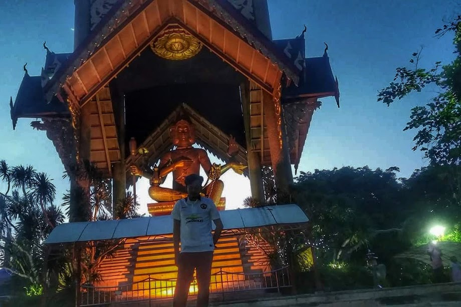 Patung Buddha 4 Wajah Kenjeran Bikin Liburan Berasa Thailand Budha