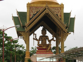 Patung Budha Empat Wajah Tertinggi Indonesia Panduan Wisata Buddha Kota