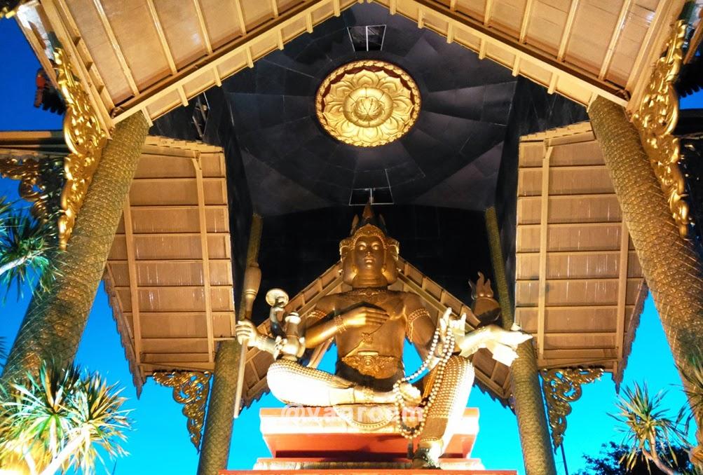 Pesona Kenjeran Patung Buddha Empat Wajah Akmal Roem Surabaya Wisata