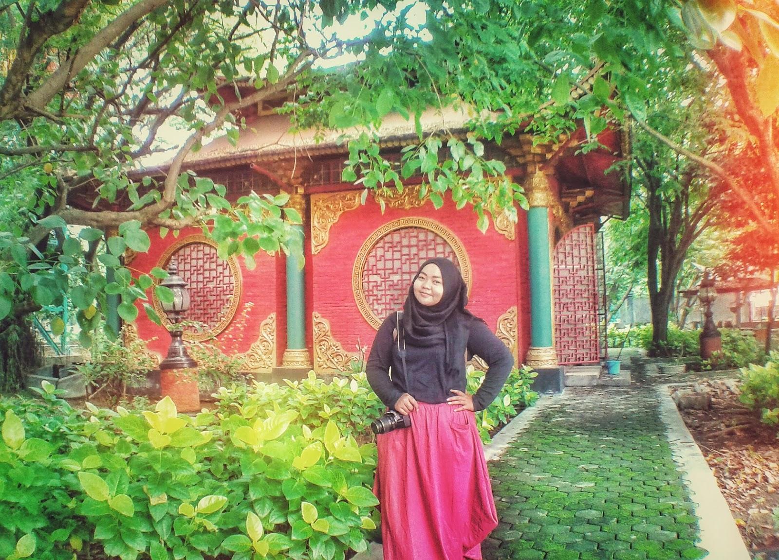 Surabaya Rasa Thailand Patung Buddha 4 Wajah Kenpark Copyright Dindahnurma