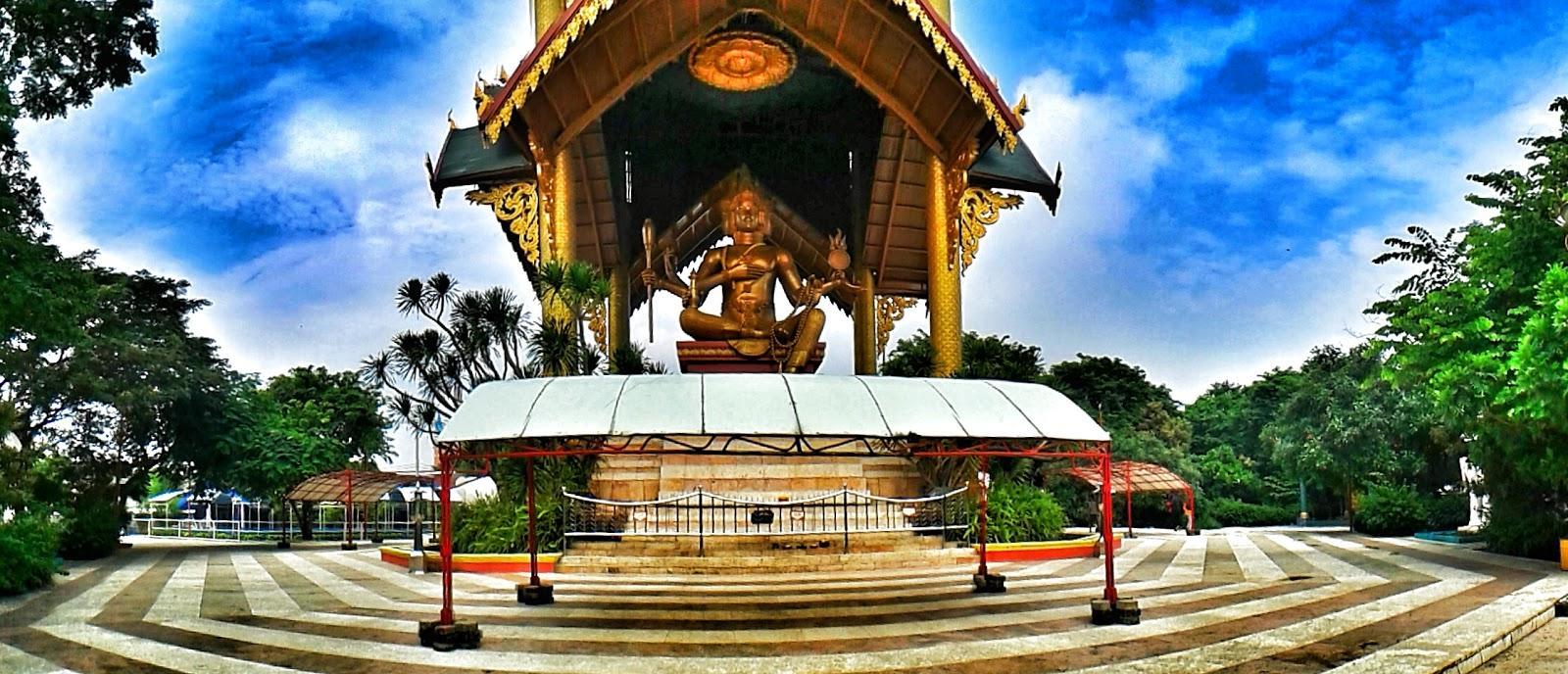 Tempat Wisata Surabaya Tak Dilewatkan Sportourism Id Patung Buddha Empat