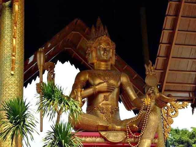 Ternyata Surabaya Punya Patung Budha Empat Wajah Keren Info Kota