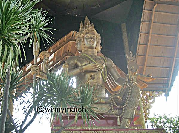 Tidak Perlu Jauh Bangkok Demi Patung Budha Empat Wajah Buddha