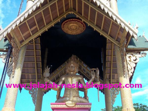 Www Jelajah Nesia Blogspot Patung Budha Empat Wajah Surabaya Sosok