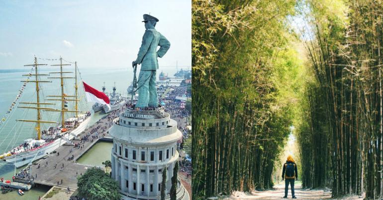 14 Destinasi Wisata Gratis Surabaya Liburan Menyenangkan Rumah Batik Kota