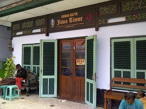 Berkunjung Rumah Batik Jawa Timur Wisata Jatim Kota Surabaya