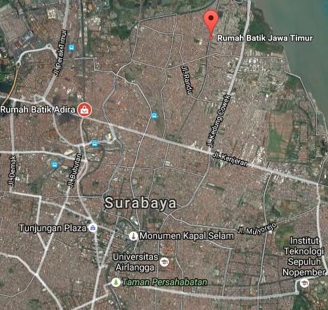 Pesona Keindahan Wisata Rumah Batik Surabaya Daftar Tempat Demikianlah Sedikit