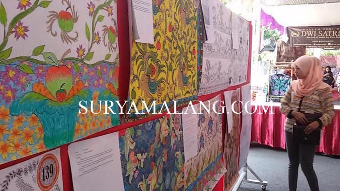 Seru 126 Desainer Adu Kreatif Batik Khas Kota Wisata Batu