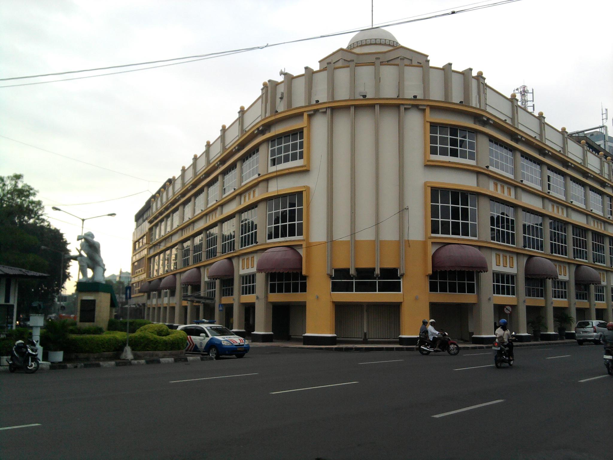Wisata Murah Kota Tua Surabaya Jatim Salah Satu Gedung Rumah