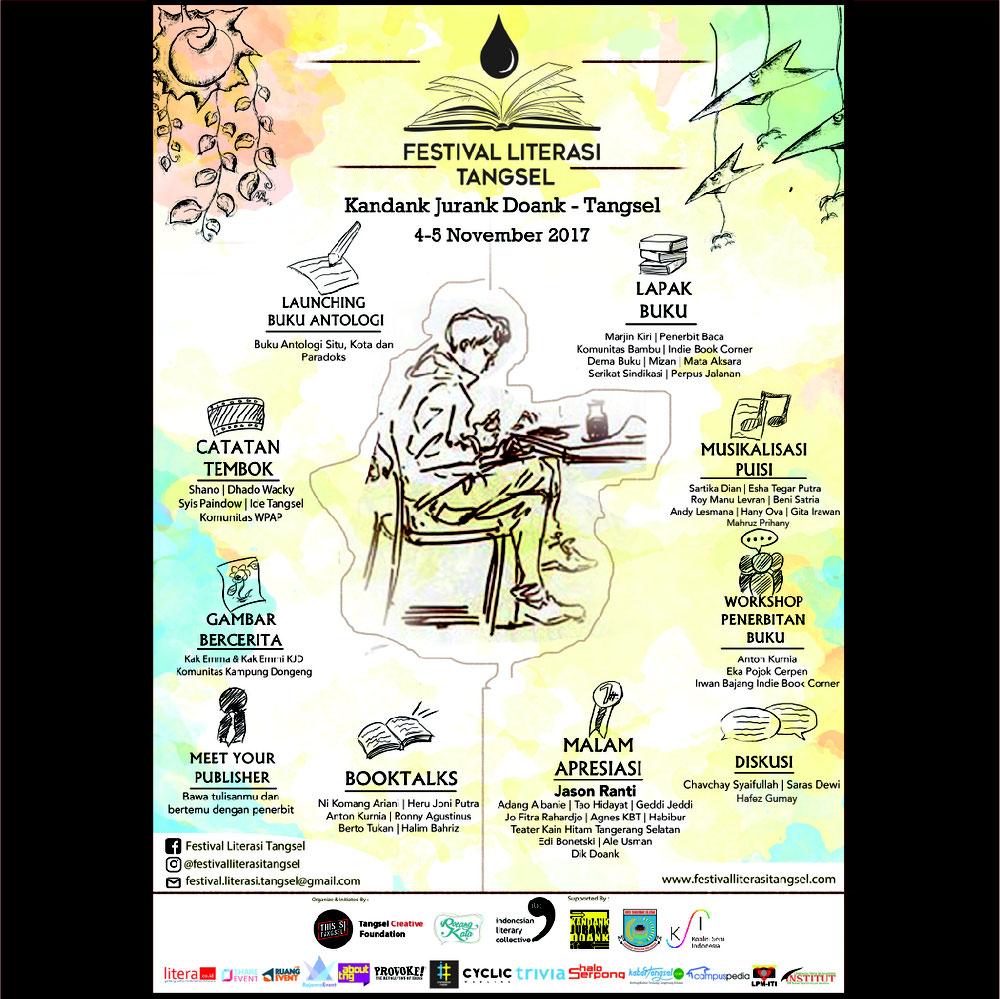 Malam Puisi Tangerang 33 Sebuah Anugrah Alam Semesta Tanah Festival