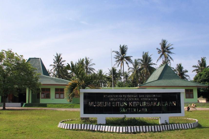 Bernostalgia Sejarah Banten Museum Situs Kepurbakalaan Terletak Kawasan Tepatnya Desa