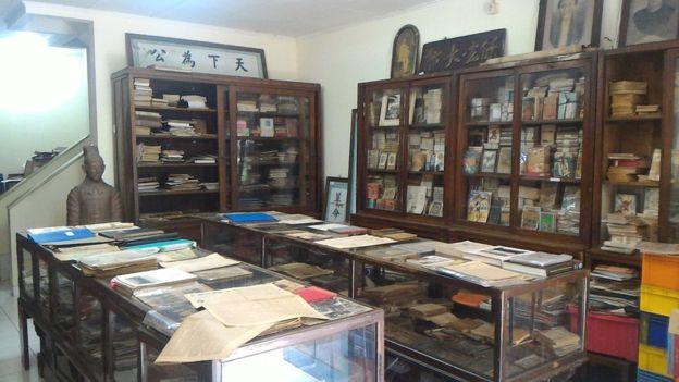 Harta Karun Tersembunyi Museum Pustaka Peranakan Tionghoa Bbc Hak Atas